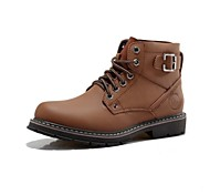 Men's Shoes Fashion Boots Comfort Round Toe Flat Heel Calf Hair Ankle Boots More Colors available