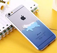 Ocean Pattern TPU Soft Cover for iPhone 6