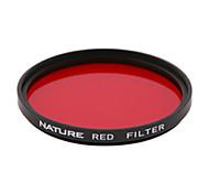 natureza 86 milímetros filtro pancromática vermelho