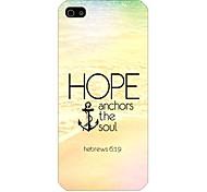 patrón ancla del barco nuevo caso para el iPhone5 / 5s