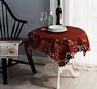 Natal toalhas de mesa bordados clássico toalha 85 * 85 centímetros