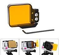 Accessoires GoPro Dive Filtre Pour Gopro Hero 3+ / Gopro Hero 4 Surf / La navigation de plaisance / Kayak / Wakeboard / Plongée