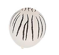 tarja preta balões de espessura - um conjunto de 24