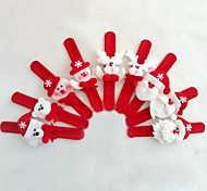 Natal brinquedos alça de pulso para crianças 6pcs (estilo aleatório)