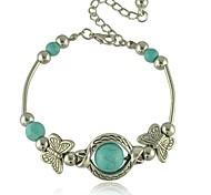 European and American Bohemian style Butterfly Beaded Heart Bracelet