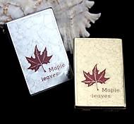 RIFEN  Metal USB Charging Cigar Lighter - Maple Leaf