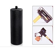 """POPLAR Threaded Metal Hand Grip for Nikon / Canon / Sony / Pentax Cameras or Camcorders with 1/4"""" socket (Black)"""