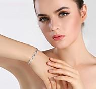 The Calssic Bracelet Jewelry,in 925 Sterling Silver  Bracelet Jewelry,Cubic Zirconia  Bracelet,Women's  Bracelet Jewelry