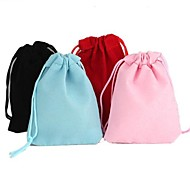 Rectangle-Shaped Velvet Gift Bags (1Pc)(4 Colors)