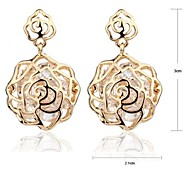 Rose Gold Earrings #48-1