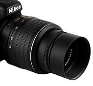 sidande std-46-49-25 parasoleil universel pour diamètre de 46mm Nikon, Canon len