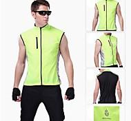 wolfbike chaleco a prueba de viento ciclismo guardia viento chaleco windvest chaqueta verde