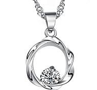 925 felicità fiore ciondolo in argento ms prugna fiore