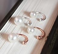 perles les os de l'oreille en Corée du Sud u clip sans oreille percé boucles d'oreilles (1 pcs)