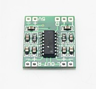placa mini amplificador de áudio digital - verde
