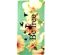 BeFree Pattern TPU Soft Back Cover for Sony Xperia Z3 Mini