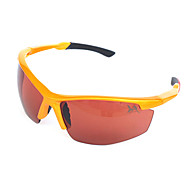 Sunglasses Men / Women / Unisex's Classic / Sports / Fashion Rectangle Orange Sunglasses Half-Rim