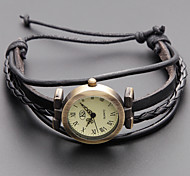 Women's Watch Bohemian Casual Plaited Band Bracelet Watch Cool Watches Unique Watches Fashion Watch Strap Watch