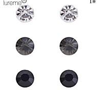 Lureme®Crystals Earrings Set