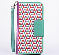 Fashion Design Pattern Full Body Case with Stand  for iPhone 6(Assorted Color)
