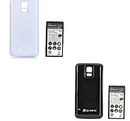 Minismile™ 4800mAh Dual-battery Thickened Li-ion Battery with Back Case for Samsung Galaxy S5 / G900 (Assorted Colors)