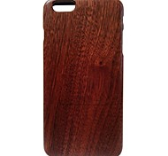 Kyuet Wooden Case Artist Made Sapele Wood Shell Cover Skin Cell Phone Case for iPhone 6 Plus