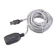 5M 16.4FT USB2.0 Male to Female Signal Strengthen Isolation Layer USB2.0 Extension Data Cable