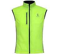 WOLFBIKE Windproof Cycling Vest Wind Guard Windvest  Gilet Jacket Green