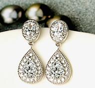 Pear-Shaped Earrings Jewelry,in 925 Sterling Silver Earrings Jewelry,Cubic Zirconia Earrings,Women's Earrings Jewelry