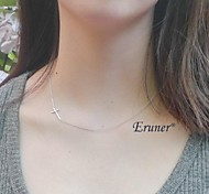 Eruner® Plated Cross Necklace For Women Girls