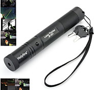 holyfire 301 532nm visible stylo vert faisceau laser réglable avec chargeur de batterie - noir