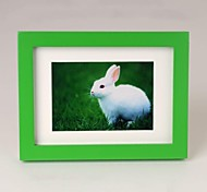 Personalized Framed Photo 8 inches Colourful Wooden Frame with Hanging Hook 1 Photo