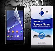 HD Screen Protector with Dust-Absorber for Sony Z2 (1 PCS)
