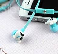 Supper Cute Candy Color Rilakkuma Earphone