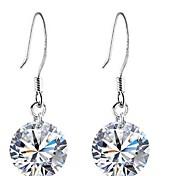 Fashion Silver Zircon Earring(More Colors)