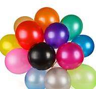 100pcs alta qualidade balão de látex multicolor hélio espessamento pérola para o aniversário festa de casamento