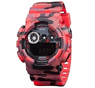 Men's Sports Watches Waterproof LED Digital Military Wrist Watches (Assorted Colors)