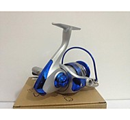 Fishing Reel Spinning Reels 5.5:1 8 Ball Bearings Exchangable / Right-handed / Left-handed Spinning