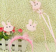 Pink Rabbit Pattern Headband & Hand Crutch Kids' Halloween Party Accessories