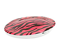 Portable Rose Zebra-Stripe Pattern Electronic Usb Charging Hand Warmers
