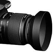 Sidande WAL-58-82-30 Metal Lens Hood for Canon 18-55MM 55-200MM Diameter Len