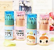 24pcs Colored Pencil for Drawing Painting Artist Art with Sharpener Practical Kids Birthday Gift