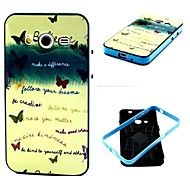 Believe Pattern Back Case Cover for Samsung Galaxy Core 2 G3556D/G355H