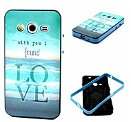 Love Pattern Back Case Cover for Samsung Galaxy Core 2 G3556D/G355H