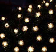 20LED Solar Lamp String Maomao String Garden Decorative Lantern Festival Lights 4.8M