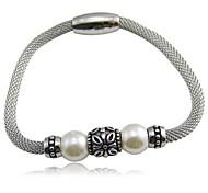 MissHerr Fashion 20cm Women Stainless Steel Tennis Bracelet