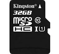 classe 32gb kingston 10 micro sd cartão de memória flash SDHC tf alta velocidade genuína