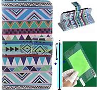 conception de vent nationale cuir PU cas de tout le corps avec protecteur d'écran, un stylet et d'éligibilité pour Motorola MOTO e