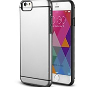 Case - Slim Fit Hybrid Bumper Back Cover Case for iPhone 6  Plus (Assorted color)