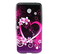 For Nokia Case Pattern Case Back Cover Case Heart Soft TPU Nokia Nokia Lumia 630